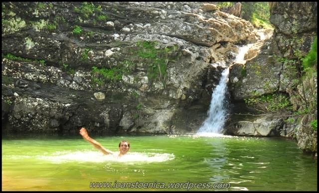 ioan in lacul de sub cascada