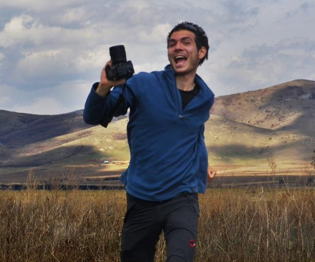 bucurie mare - mi-a fost publicata o fotografie in National Geographic!