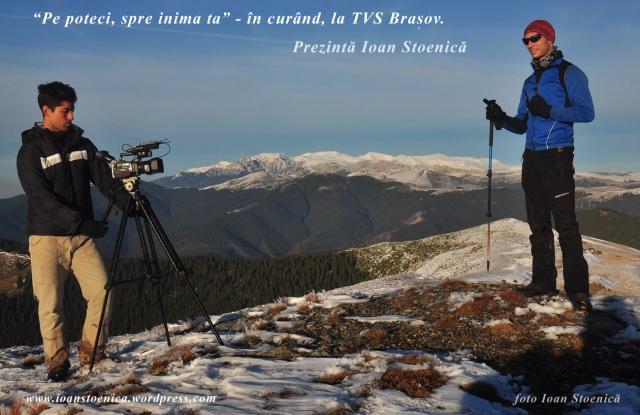 Emisiune de munte la tv - cu Ioan Stoenică