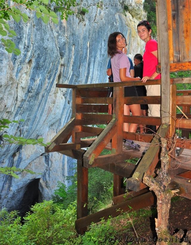 balcon langa cascada