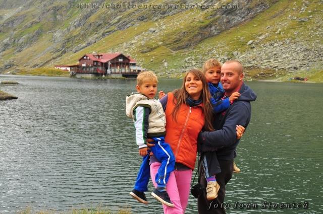 la lacul balea