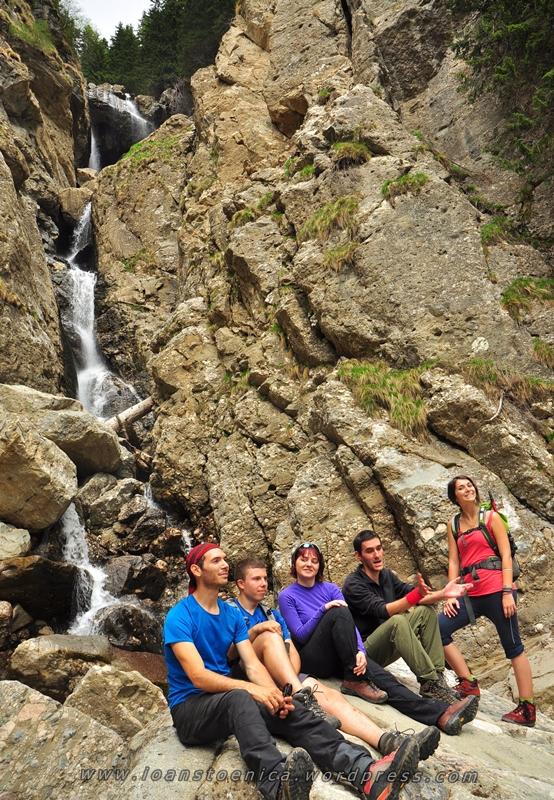 grup la cascadele vanturisului