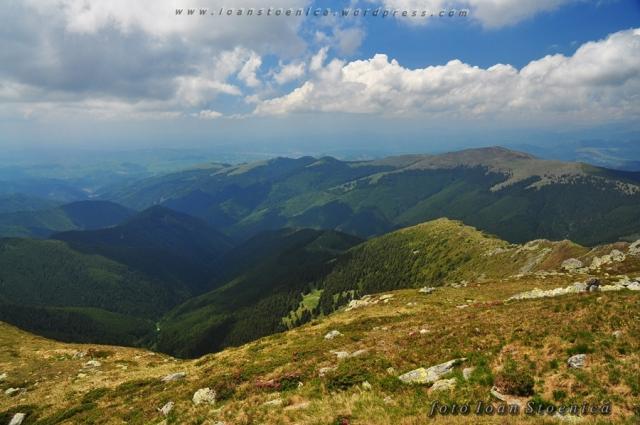 culmile vestice din Leaota - muntele Cioara