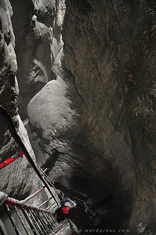iarna in canionul 7 scari