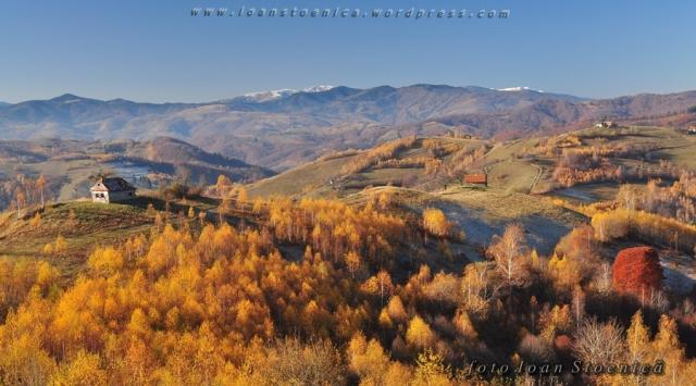 peisaj de toamna pe dealuri