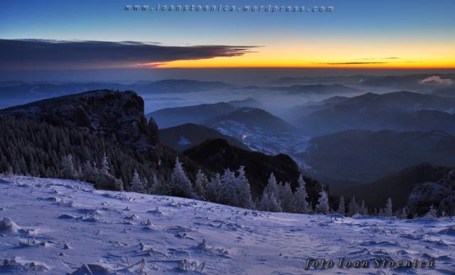 imagini in ceahlau - spre izvorul muntelui