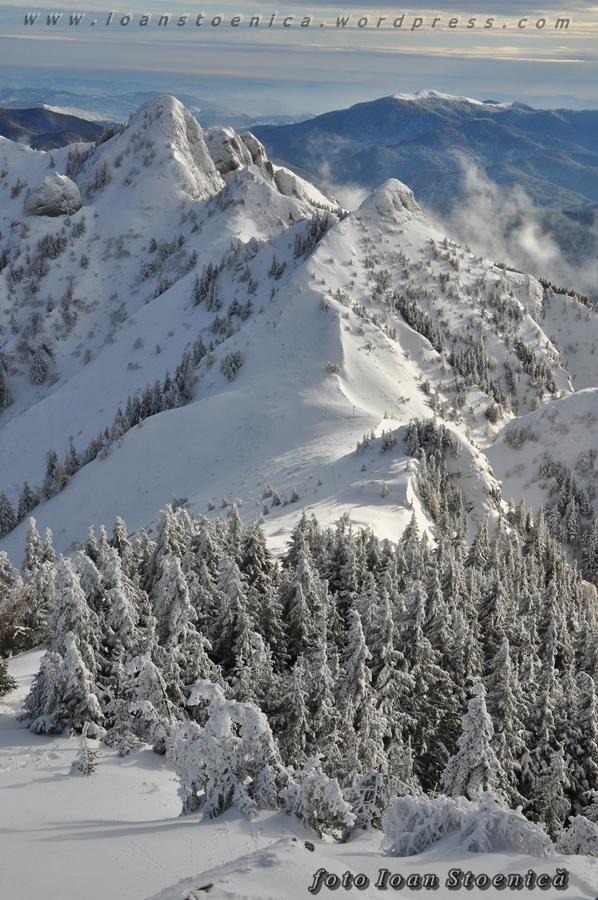 verticale in ciucas - iarna