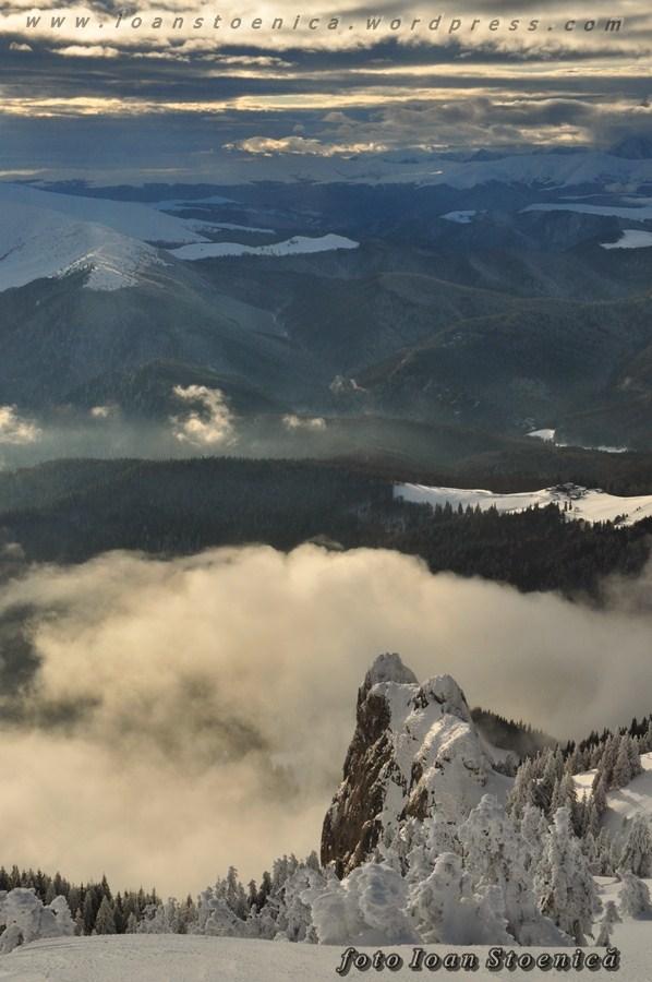 peisaje spectaculoase pe munte - ciucas