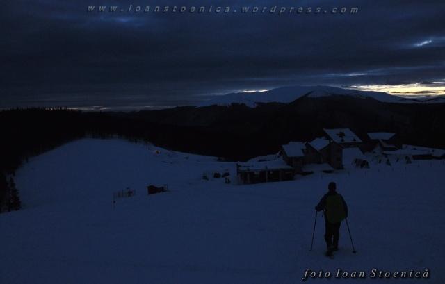 noaptea la muntele rosu