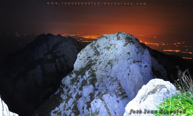 imagini de noapte - piatra craiului