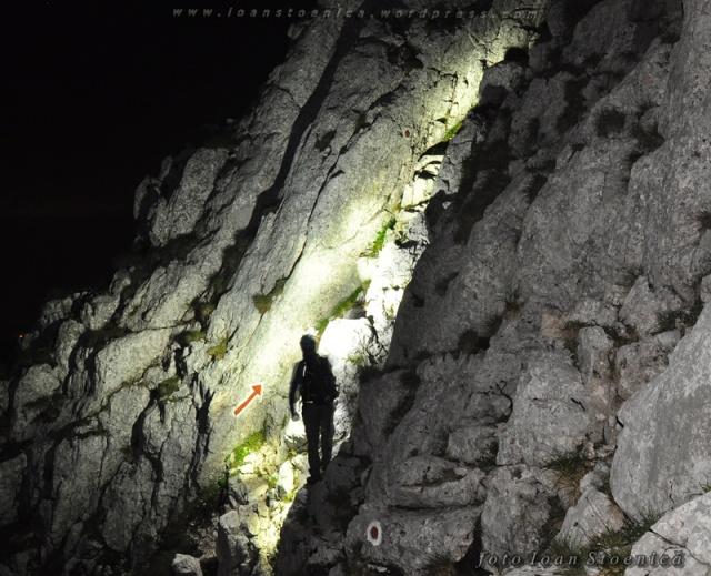 traseu de noapte - creasta pietrei craiului (nordica)