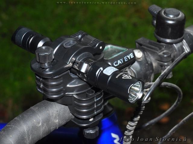 suport pentru lanterna pe ghidon - fenix