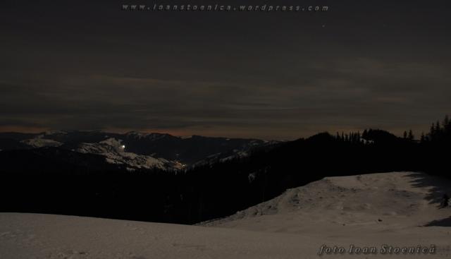 noaptea in muntii bistritei
