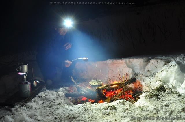 iarna la foc