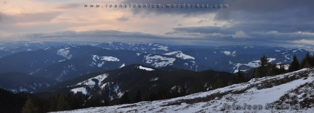peisaj in muntii bistritei - vedere de ansamblu