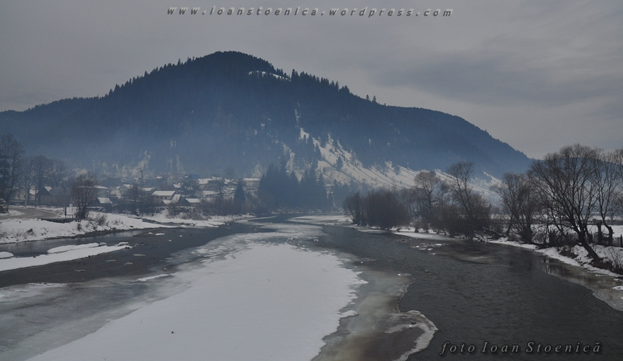 raul bistrita iarna