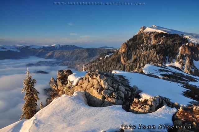 peisaj in parcul national buila - vanturarita