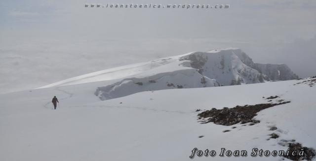 pe creasta alba a muntelui