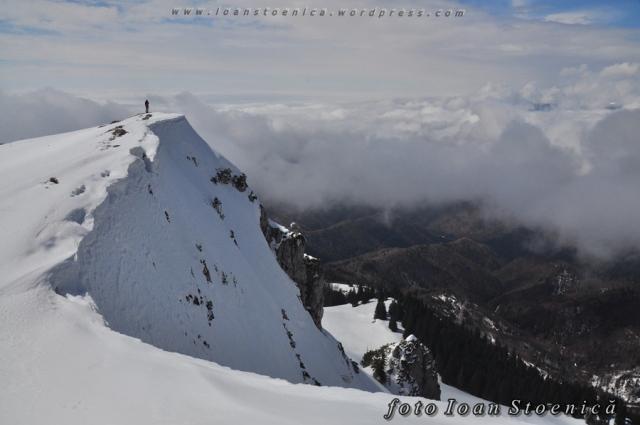 margini de prapastie - iarna pe munte
