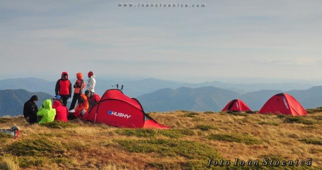corturi husky pe munte