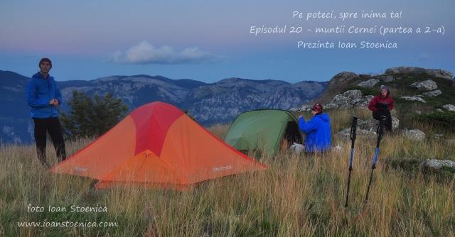 Excursie cu cortul - muntii Cernei