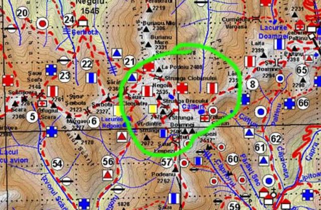harta strunga dracului