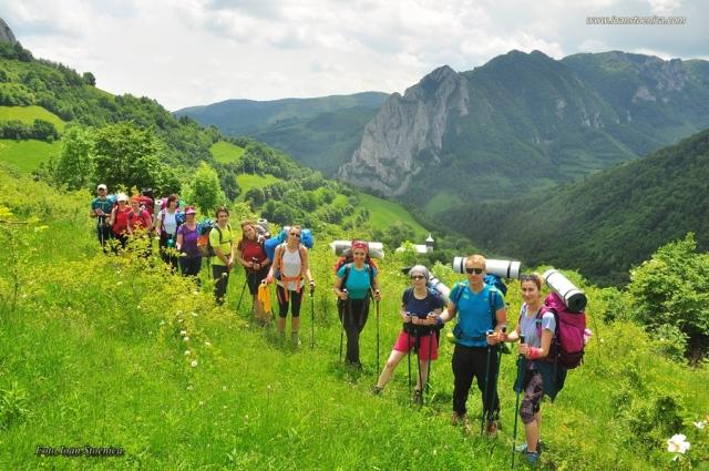 grup in Trascau - Valea Uzei