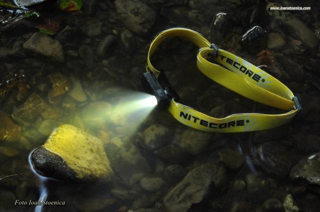 Frontala Nitecore rezistenta la apa Nu20