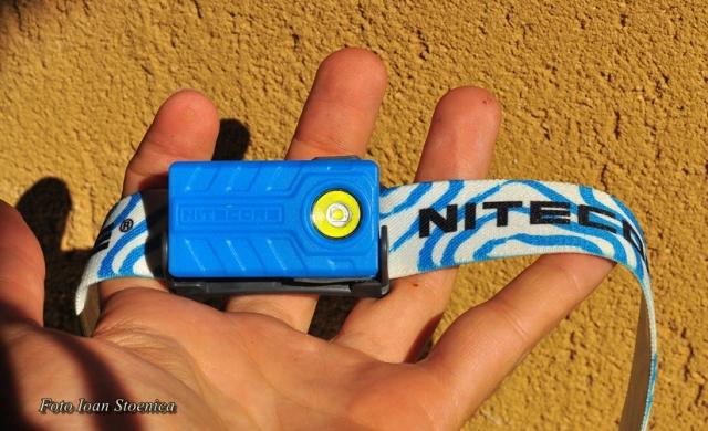 NU20 Nitecore albastra