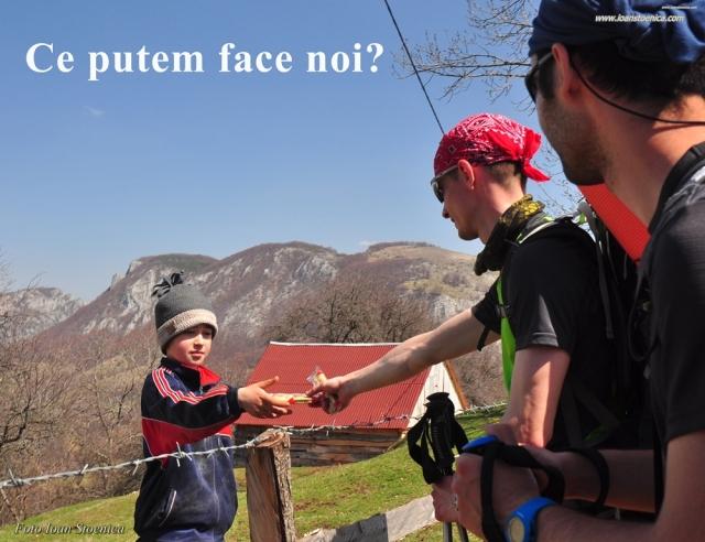ce putem face noi - copil pe munte